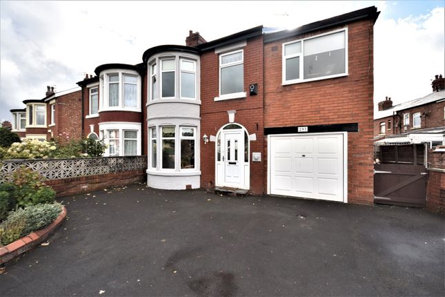 Thumbnail Semi-detached house to rent in Park Road, Blackpool, Lancashire
