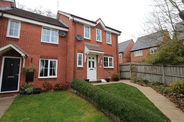 Thumbnail End terrace house for sale in Armscote Grove, Hatton Park, Warwick, Warwickshire