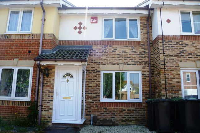Thumbnail Terraced house to rent in Spinnaker Close, Gosport