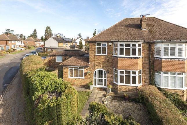 Semi-detached house for sale in Monument Lane, Chalfont St. Peter, Gerrards Cross, Buckinghamshire