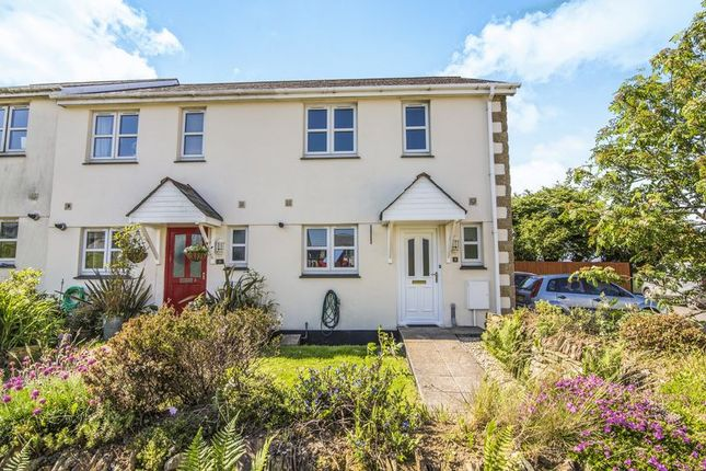 Thumbnail End terrace house for sale in St. James View, Fraddon, St. Columb