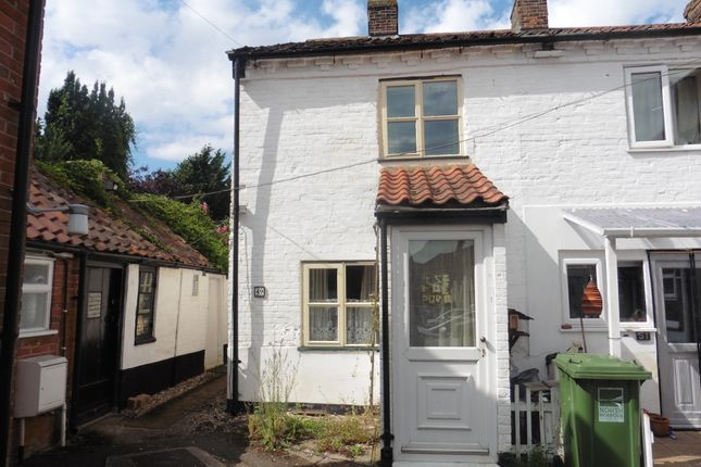 Thumbnail End terrace house for sale in Norwich Road, Fakenham