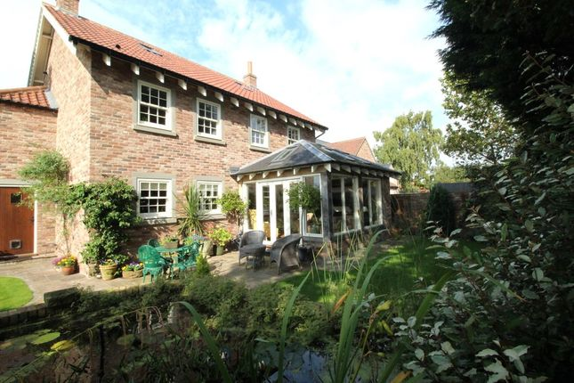 Thumbnail Detached house for sale in Hollymead Court, Selby