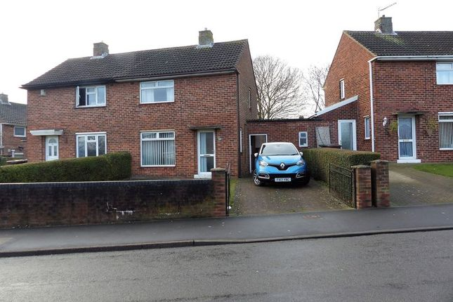Thumbnail Semi-detached house for sale in Laughton Way North, Lincoln