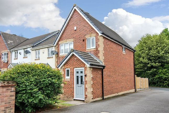 Thumbnail Semi-detached house for sale in Foxglove Close, Lichfield