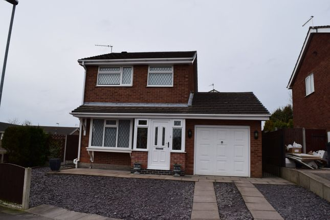 Thumbnail Detached house for sale in Ledstone Way, Meir Hay, Stoke-On-Trent
