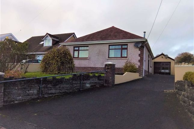 Thumbnail Detached bungalow for sale in Heol Nazareth, Pontyates, Llanelli