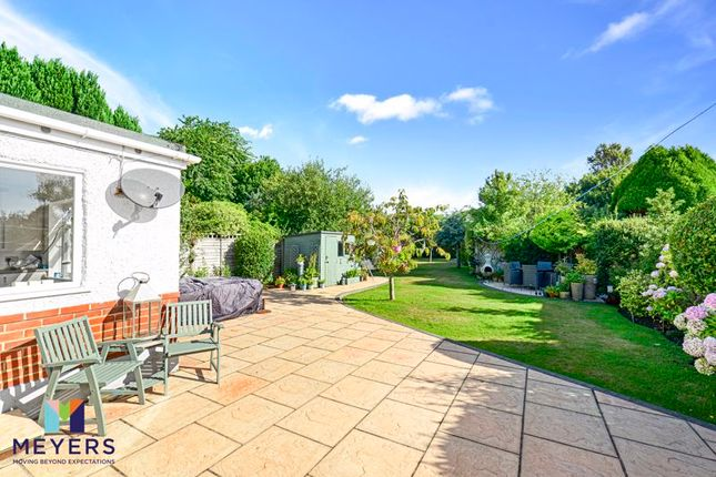 Thumbnail Detached bungalow for sale in Baring Road, Hengistbury Head