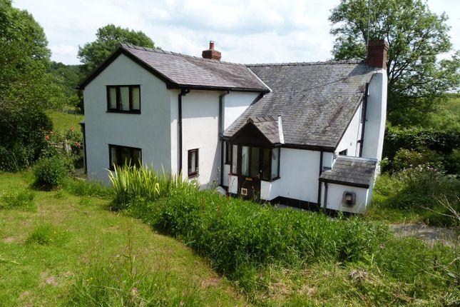 Thumbnail Detached house for sale in Dolanog, Welshpool