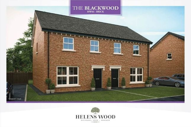 Thumbnail Semi-detached house for sale in Helens Wood, Rathgael Road, Bangor