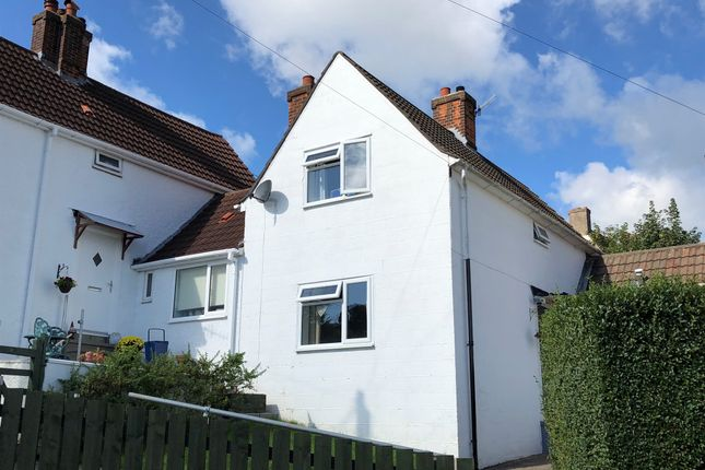 Thumbnail Terraced house for sale in Wye Crescent, Chepstow
