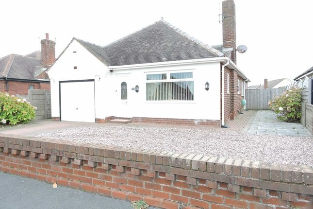Thumbnail Detached bungalow for sale in Rossall Close, Fleetwood