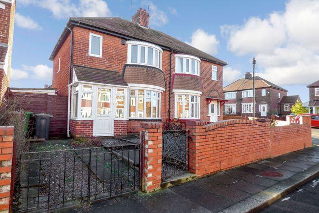 Thumbnail Semi-detached house for sale in Arlington Street, Sunderland