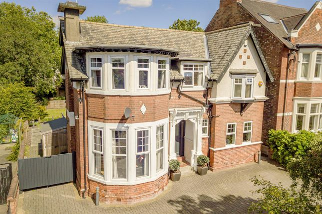 Thumbnail Detached house for sale in Ebers Road, Mapperley Park, Nottinghamshire