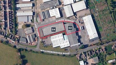 Thumbnail Commercial property for sale in Unit & D4, Baron Avenue, Earls Barton, Northamptonshire