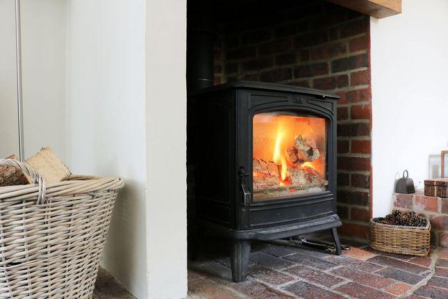 Log Burner Living Room