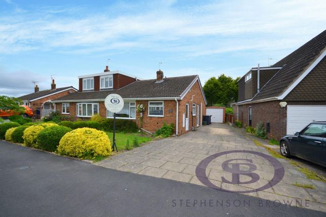 Thumbnail Semi-detached bungalow for sale in The Bridle Path, Madeley, Crewe