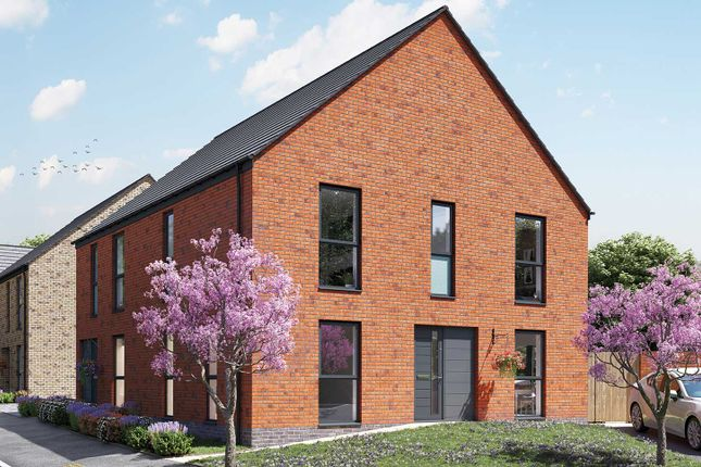 """Thumbnail Semi-detached house for sale in """"The Becket"""" at Matthews Court, Harrington Lane, Exeter"""
