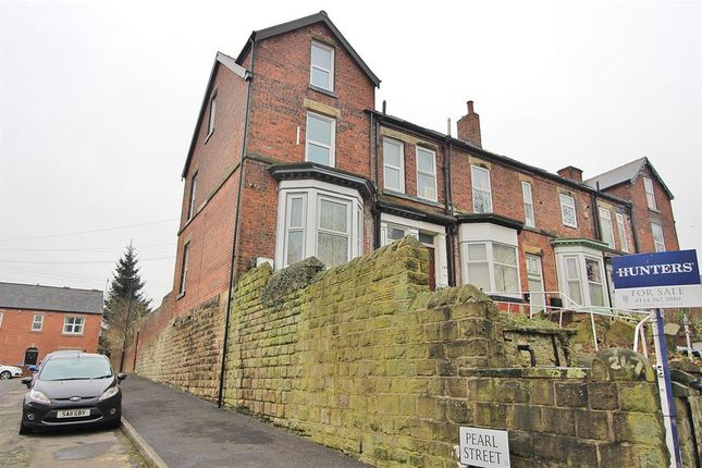 Thumbnail End terrace house for sale in Cemetery Road, Sharrow Head, Sheffield