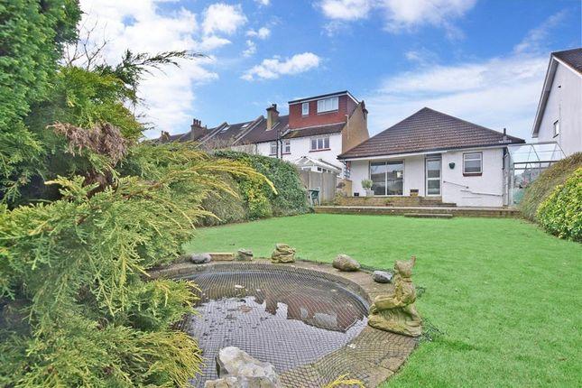 Thumbnail Detached bungalow for sale in Cowper Gardens, Wallington, Surrey