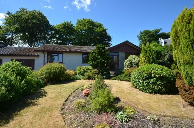 Thumbnail Bungalow for sale in 6 Glebe Road, Nairn