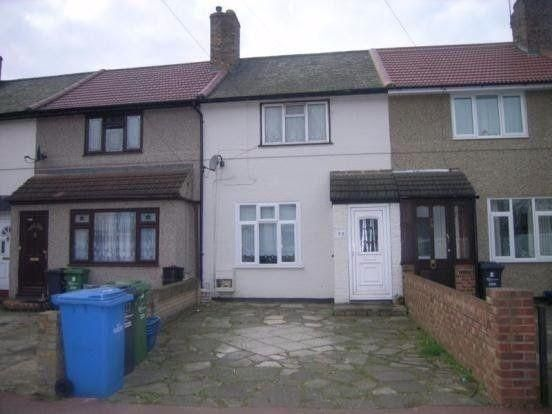 Thumbnail Terraced house to rent in Armstead Walk, Dagenham