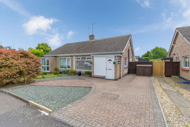 Thumbnail Semi-detached bungalow for sale in Jerwood Way, Market Harborough