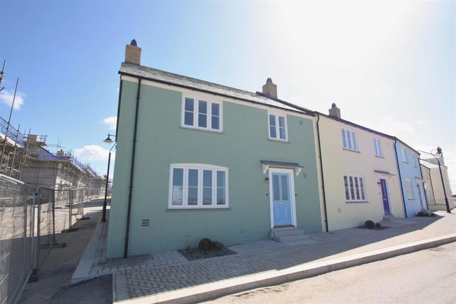 Thumbnail End terrace house to rent in Stret Goryan, Nansledan, Newquay