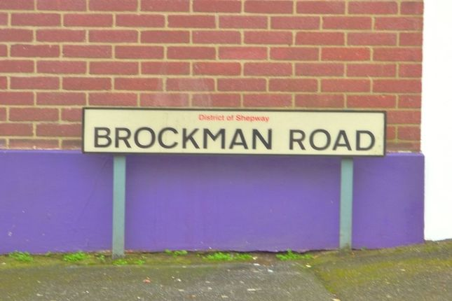 Thumbnail Property to rent in Brockman Road, Folkestone