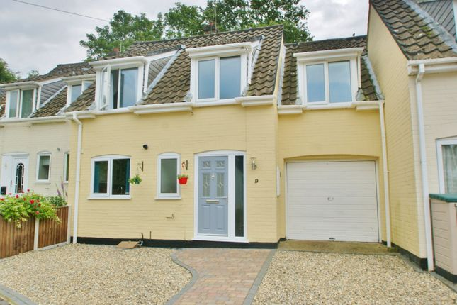 Thumbnail Terraced house for sale in Manor Close, Buxton, Norwich
