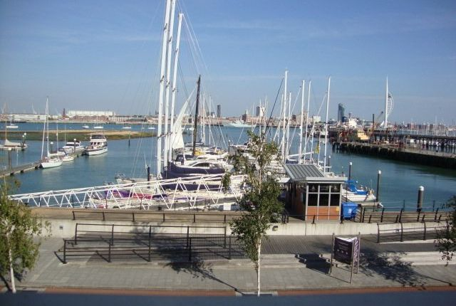 Thumbnail Flat to rent in The Chandlers, Royal Clarence Marina, Gosport