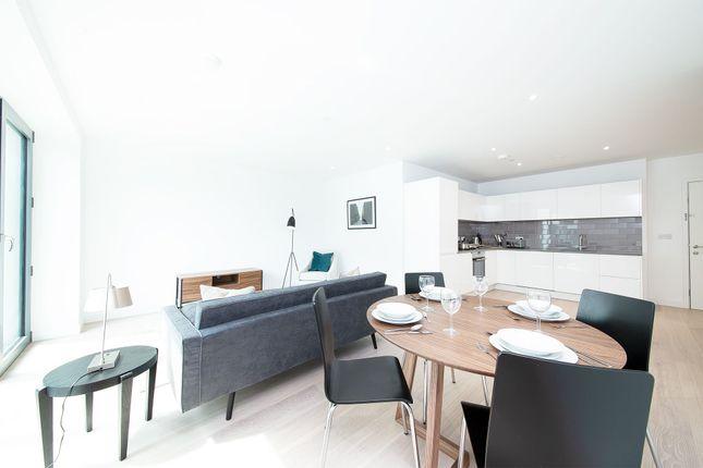 Thumbnail Flat to rent in Pendant Court (Portland House), 4 Shipwright Street, Royal Wharf, London