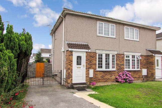 Thumbnail Property to rent in Easterley Close, Brackla, Bridgend