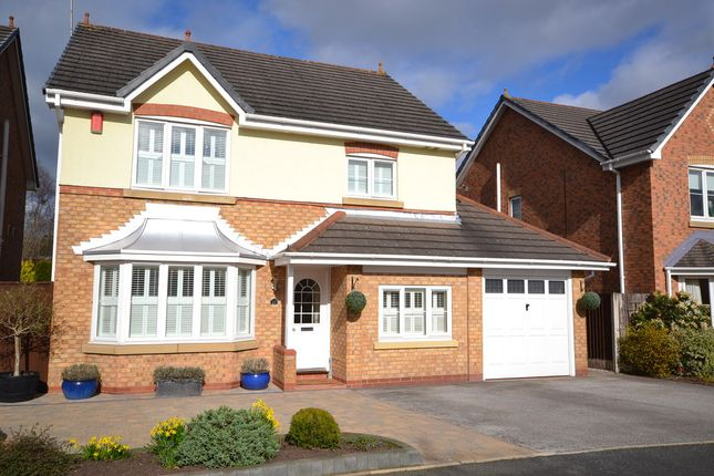 Thumbnail Detached house for sale in Fair-Green Road, Baldwins Gate, Newcastle-Under-Lyme