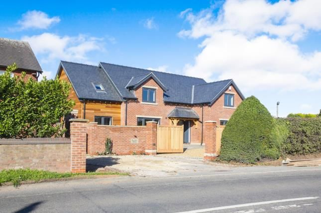 Thumbnail Detached house for sale in Congleton Road, Marton, Macclesfield, Cheshire