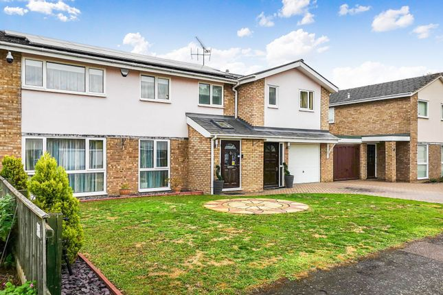 Thumbnail Semi-detached house for sale in Shirley Close, Milton, Cambridge