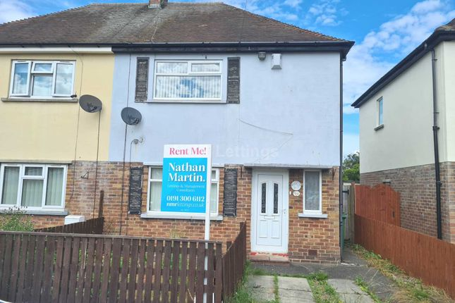 Thumbnail Semi-detached house to rent in Bishops Meadow, Bedlington