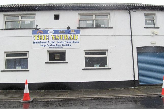 Thumbnail Industrial for sale in Ystrad -, Pentre