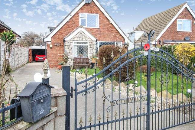 Thumbnail Detached bungalow for sale in Rhewl Fawr Road, Penyffordd, Holywell