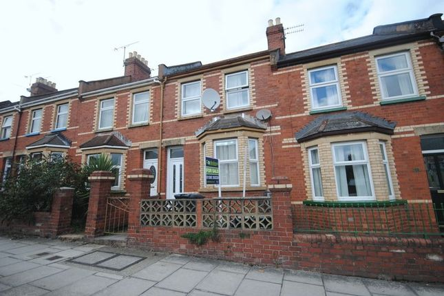 Terraced house for sale in Pinhoe Road, Exeter