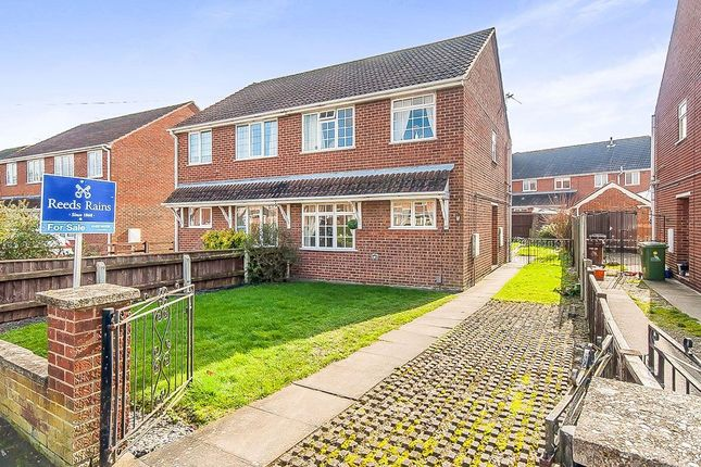 Thumbnail Semi-detached house for sale in Sunningdale, Waltham, Grimsby