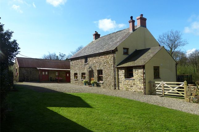 Thumbnail Detached house for sale in Blaen Pentroydin, Llanddewi Velfrey, Narberth, Pembrokeshire