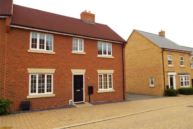 Thumbnail End terrace house to rent in Whitehead Way, Buckingham