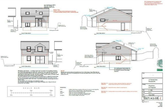 Thumbnail Detached bungalow for sale in Ponsanooth, Truro, Cornwall