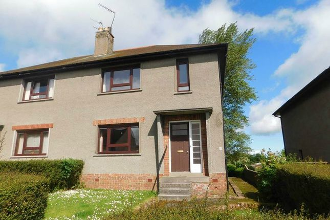 Thumbnail Semi-detached house for sale in Fordyce Avenue, New Deer, Turriff, Aberdeenshire