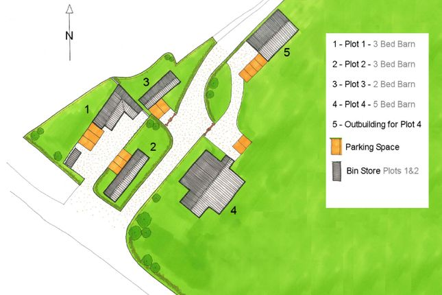 Thumbnail Barn conversion for sale in Cobblers Green, Felsted