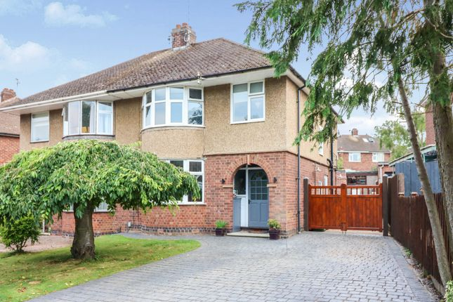 Thumbnail Semi-detached house for sale in Mckinnell Crescent, Rugby