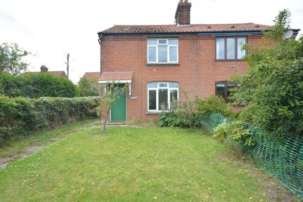 Thumbnail Semi-detached house to rent in Top Common, East Runton, Cromer