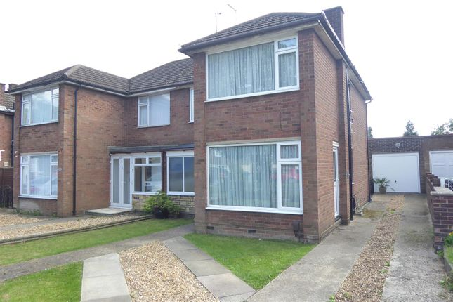Thumbnail Semi-detached house for sale in Poynters Road, Dunstable