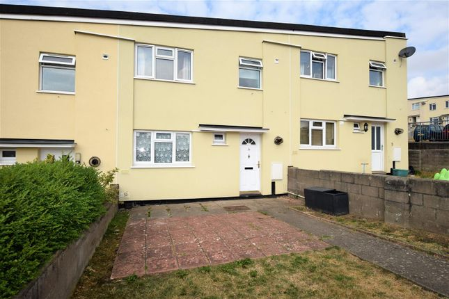Thumbnail Terraced house for sale in Laugharne Court, Caldy Close, Barry